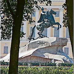 """photo """"The Bronze Rider"""""""