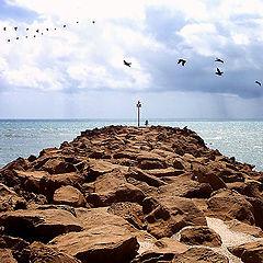 """photo """"Un Camino en el Mar"""""""