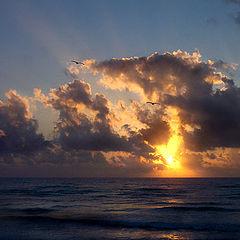 """фото """"Восход на море"""""""