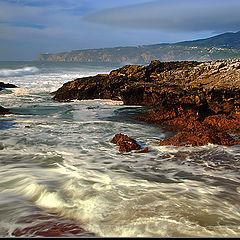 """фото """"Beach and rocks"""""""