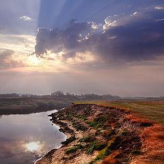 """фото """"Утро на реке Ипуть"""""""