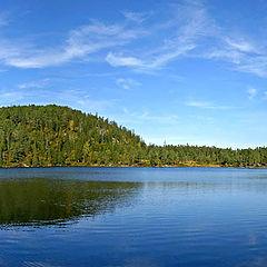 """фото """"Fall at the lake"""""""