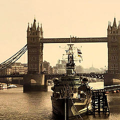 "фото ""London in sepia"""