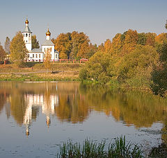 "photo ""Тихая осень в Tishkovo."""