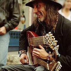 "photo ""Wandering musician Serg Sadow"""