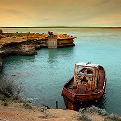 """photo """"about joys and rusty boats..."""""""