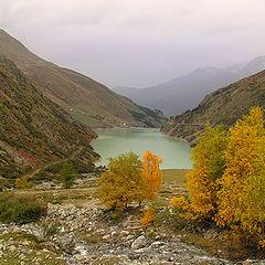 """фото """"Осень на перевале Сан - Бернард"""""""
