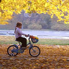 "photo ""Childhood.Autumn."""