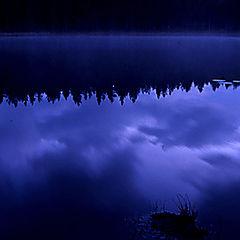 """photo """"Blue night"""""""