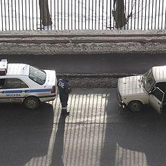 "фото ""Проверка на дороге"""