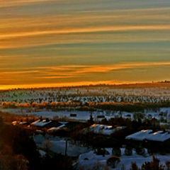 "фото ""Sunrise in ROROS"""