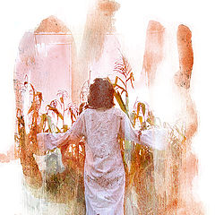 """фото """"Pray of rain"""""""