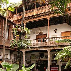"photo ""Inside Tenerife house, La Orotova"""