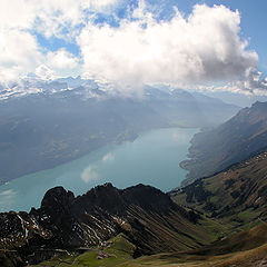 "photo ""On a roof of the world.Brienzersee."""