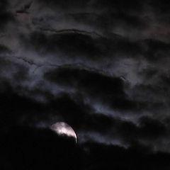 """фото """"Луна и тучи"""""""