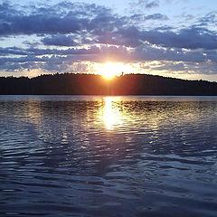 """photo """"Petrovskoe lake 2. Sunrise"""""""