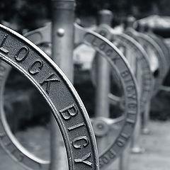 "фото ""lock bicycle"""