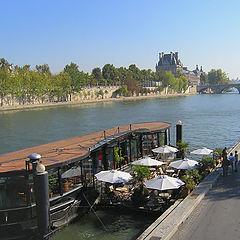 """фото """"PARIS. La Seine, le Louvre"""""""
