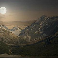 "фото ""Mountain Moonlight"""