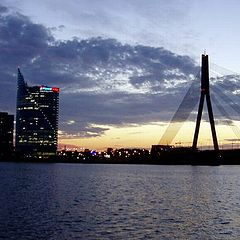 "фото ""riga after sunset"""