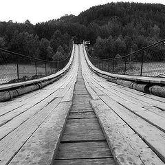 """photo """"Bridge on Katun`"""""""
