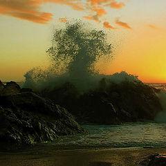 "фото ""kissing the rocks"""