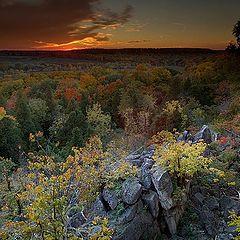 "photo ""Evening Hills of October"""