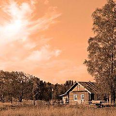 """фото """"Оранжевый вечер"""""""