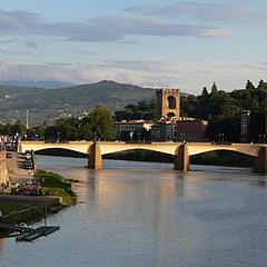 "photo ""Arno at evening"""