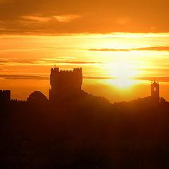 """фото """"Castle in Fire"""""""