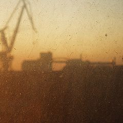 "фото ""Dirt and cranes"""