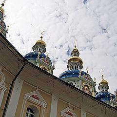 """photo """"The Skies of Pskovo-Pechoskiy Monastery"""""""