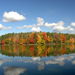 "фото ""Autumn reflection"""