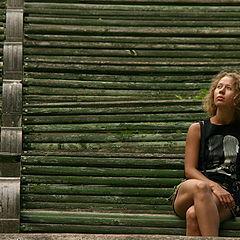 """фото """"Милана в беседке Никитского сада. КО №02-18"""""""