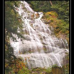 """фото """"Bridal Veil Falls  BC Canada"""""""