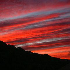 "photo ""Bloody Sky"""