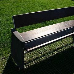 "фото ""The garden bench"""