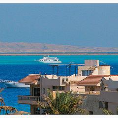"photo ""The Blue sea, white nave..."""