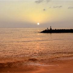 """фото """"Море. Закат. Пирс. Любовь."""""""