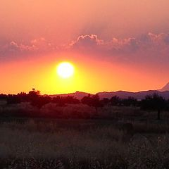 "фото ""North Cyprus Sunset"""