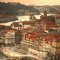 "photo ""Old part of Oporto City"""