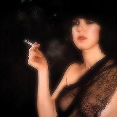 "photo ""smoking girl"""