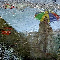 """фото """"descending with rain"""""""