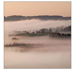 "фото ""village in clouds"""