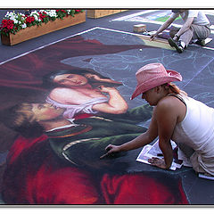 "photo ""Painting on Street"""