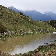 """фото """"Дождь в горах"""""""