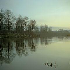 """photo """"November sunset"""""""