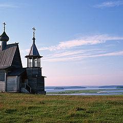 "photo ""Kenozero. Another view of Nikolskaya chapel"""