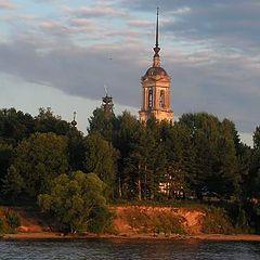 """фото """"На закате. Волга."""""""