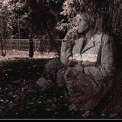 "фото ""Lovely sad spirit..."""